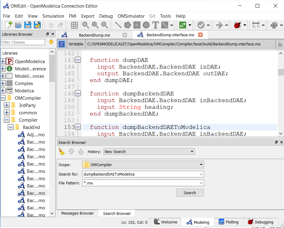 OMEdit – OpenModelica Connection Editor — OpenModelica